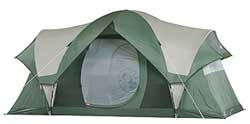The new Montana Big Sky Tent and redesigned Crestline and Montana tents are modified domes u2013 offering increased interior headroom over standard dome tents.  sc 1 st  LandBigFish.com & Coleman Tents Stand up to Wind Rain and Expectations