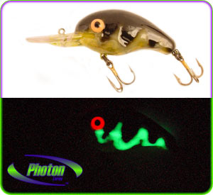 understanding why glowing fishing lures work, Reel Combo