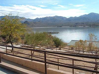 Bartlett reservoir of arizona for Bartlett lake fishing report
