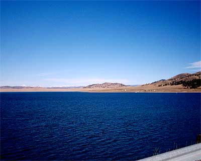 Spinney mountain reservoir of colorado for Spinney reservoir fishing report