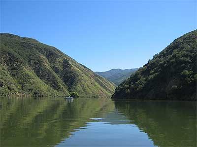 Castaic lake of california for Castaic lake fishing