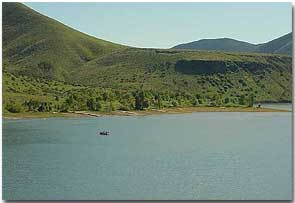 Lucky peak lake of idaho for Peak fishing times for today