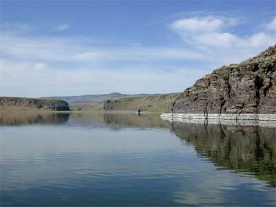 Salmon falls creek reservoir of idaho for Falls lake fishing