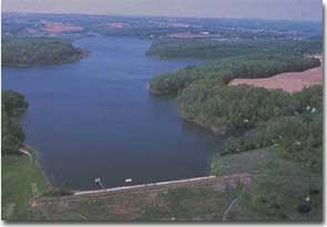 Liberty reservoir of maryland for Fishing spots in maryland