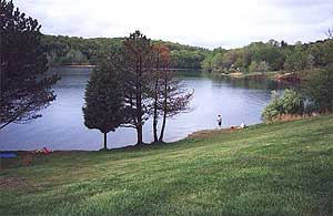 Round valley reservoir of new jersey for Best fishing spots in nj
