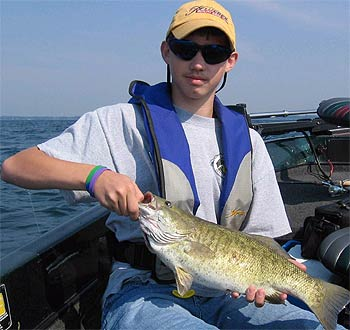 Lake erie of new york for Lake erie perch fishing hot spots