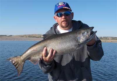 Lake Oahe Of South Dakota