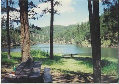 Pactola reservoir of south dakota for Pactola lake cabins