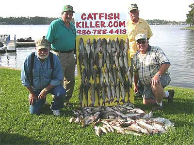 Lake conroe of texas for Lake conroe fishing map