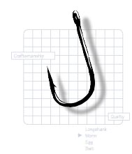 Gamakatsu Spinner Bait Trailer Hook