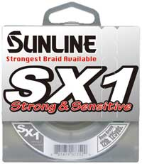 Sunline SX1 Braid Fishing Line