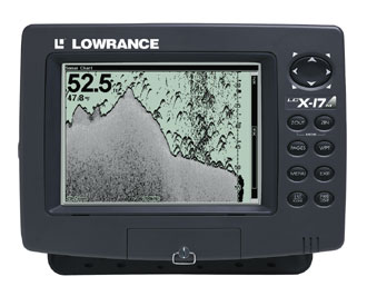 Lowrance LCX-17M Sonar - GPS Unit (400.00 or BO) Low-LCX-17M