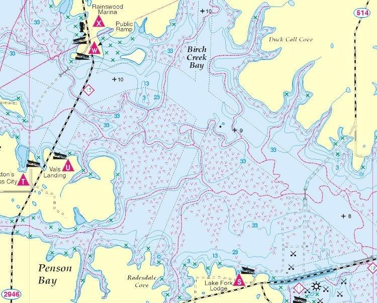 Fishing hot spots map info for Fishing hot spots