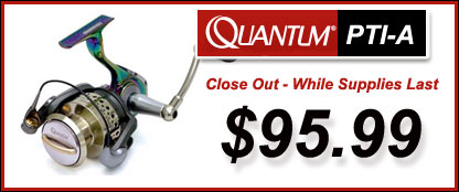 Discount Quantum Fishing Reels