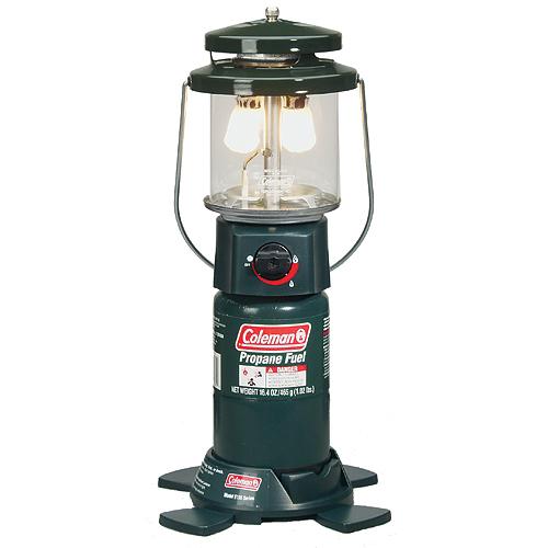 Coleman 2-Mantle InstaStart Propane Lantern w/Case