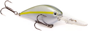 Strike King KVD 1.5 Flat Side Crankbait 586 - Sexy Blue Back Herring