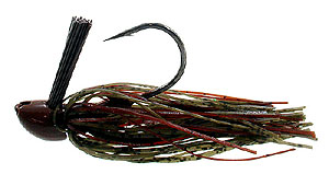 D&L Tackle Advantage Series Jigs Green Pumpkin Brown