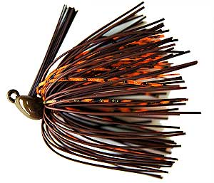 Kustom Kicker Jigs 2k Lil Punk Jigs Brown Orange