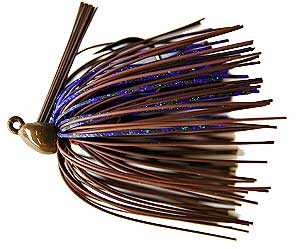 Kustom Kicker Jigs 2k Lil Punk Jigs Brown Purple