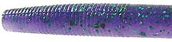 Strike King 3X Plastic Bait - Zero Worm 112 Purple Haze