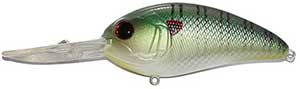 6th Sense Lures Crush 300DD Deep Diving Crankbait Green Sunfish