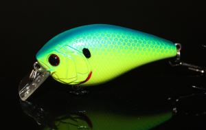 6th Sense Lures Crush 50X Square Bill Crankbait Blue-Treuse Shad