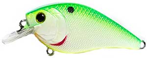 6th Sense Lures Crush 50X Square Bill Crankbait Candy Citrus Shad