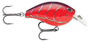 Storm Arashi Rattling Square Bill Crankbaits 870 - Red Craw