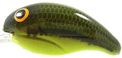 Bandit Lures Crankbaits - 200 Series 01C - Baby Bass/Chartreuse Belly