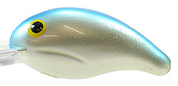 Bandit Lures Crankbaits - 200 Series 16 - Pearl/Blue Back