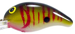 Bandit Lures Crankbaits - 200 Series RS01 - Tennessee Gold Tiger