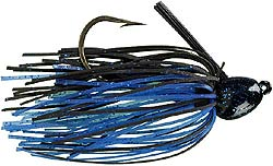 Strike King Bitsy Bug Jig 2 - Black Blue