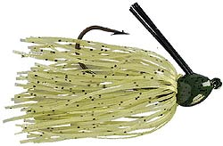 Strike King Bitsy Bug Jig G17 - Glow Watermelon