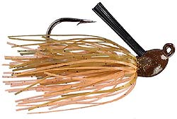 Strike King Bitsy Flip Mini Jig 20 Pumpkin Craw
