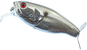 Deps Buzzjet 80 - Chrome Black Back
