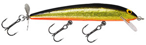 Bagley Bang-O-Lure Series BGO - Black Back/Gold/Orange