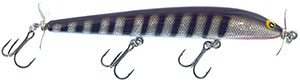 Bagley Bang-O-Lure Series SBS - Silver Black Stripe