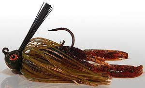 BS Fishing Rock Crawler Jigs Copper Head