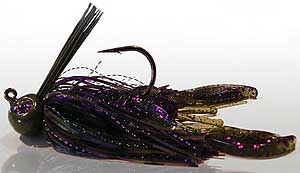 BS Fishing Rock Crawler Jigs Purple Passion