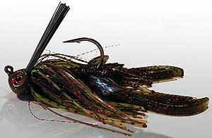 BS Fishing Rock Crawler Jigs Watermelon Red