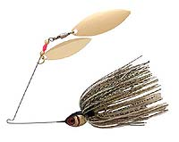 BOOYAH Bait Co. BOOYAH Blade Double Willow Spinnerbait 641 - Gold Shiner