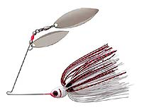 BOOYAH Bait Co. BOOYAH Blade Double Willow Spinnerbait 643 - Wounded Shad