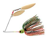 BOOYAH Bait Co. BOOYAH Blade Double Willow Spinnerbait 645 - Perch