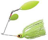 BOOYAH Bait Co. Glow Blade Spinnerbait 617 - Chartreuse