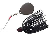 BOOYAH Bait Co. Moon Talker Spinnerbait 601 - Black/Silver