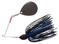 BOOYAH Bait Co. Moon Talker Spinnerbait 602 - Black/Blue