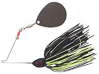 BOOYAH Bait Co. Moon Talker Spinnerbait 604 - Black Chartreuse