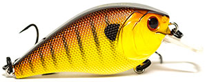 6th Sense Lures Crush 50X Square Bill Crankbait Ballistic Sunfish