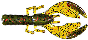 Cabin Creek Express  Craw 59 - Avocado Black/Red Glitter