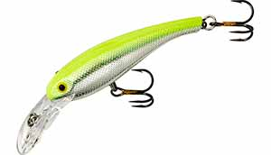 Cotton Cordell Wally Divers 110 - Chrome Chartreuse
